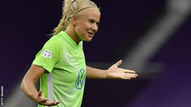 Chelsea star Pernille Harder wins UEFA Womens Forward of